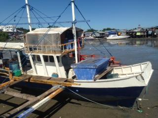 Satu kapal Filipina lagi yang berhasil diamankan Lantamal XIII Kota Tarakan