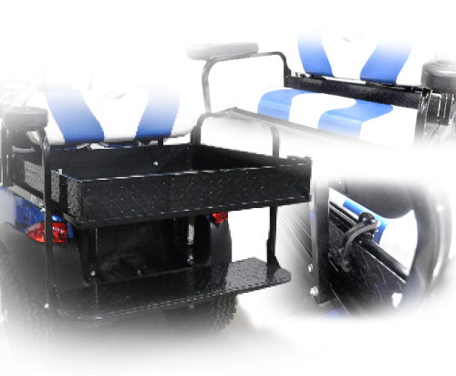 Cargo box - Expandable cargo box for Seat kit- $119.00