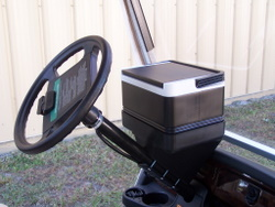 Golf Cart Cooler - Cooler and tray combo $59.95