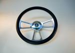 Golf Cart Steering Wheel GT Black - $124.95