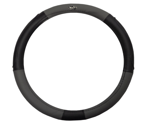 Golf Cart black and grey steering wheel cover- $19.95