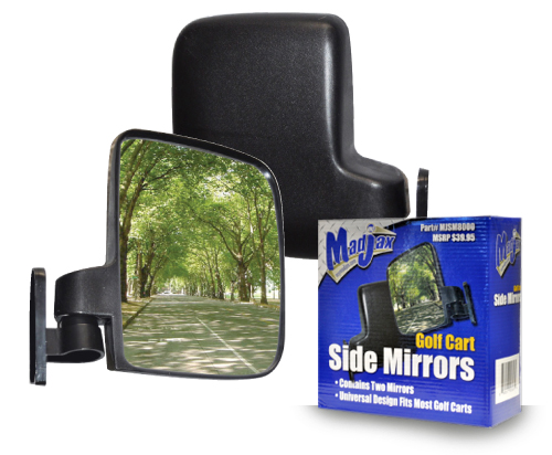 Golf Cart universal side mirrors - $34.95