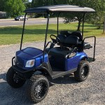 E-Z-GO RXV - Metallic Blue golf cart
