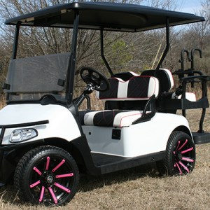 Gloss White Pink Accents EZG-115