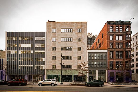 Bedrock Properties Along Woodward Ave