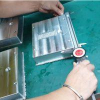 Productie in China. Aluminium frezen