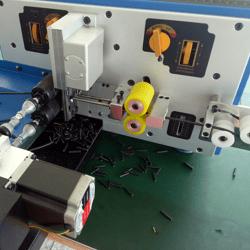 machinaal snijden en strippen van elektrische kabel