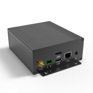 D1001448 – Aluminum electronic box 107B47H100L