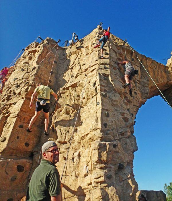Scioto Audubon Climbing Wall