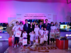 LG Gives Back for a Bigger, Better, and Brighter Christmas for the Children of Shelter of Hope