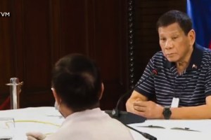 Health secretary Duque's trust rating may be going down but the President assures he got his back