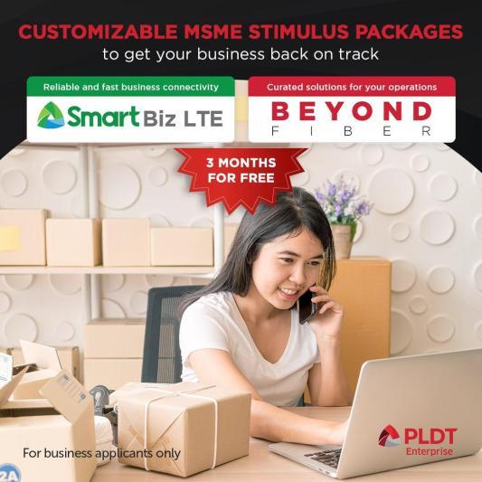 PLDT BEYOND 3-month FREE business bundle - Metropoler