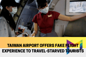 Fake flight experience that is totally legit in Taiwan