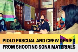 Piolo Pascual and film director Joyce Bernal's crew denied from shooting in Sagada