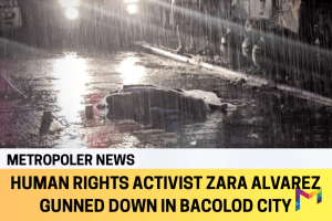 Human rights activist gunned down in Bacolod City