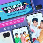 Groove to Awesome on TikTok with the SAMSUNG Galaxy A-series
