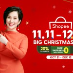 Shopee welcomes Philippines' 'Queen of All Media' Kris Aquino as the new Brand Ambassador for the 11.11 - 12.12 Big Christmas Sale