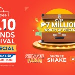 Catch and watch Shopee 10.10 Brands Festival TV Special on GMA and get a chance to win from a total of ₱7 million worth of prizes