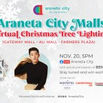 Araneta City continues to brighten up with Giant Christmas trees