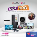 LG treats customers with its 11.11 Sale on Lazada