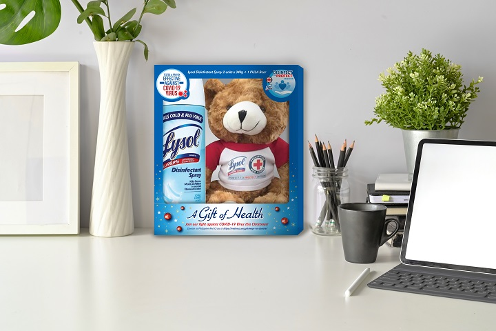 Support Lysol's Disinfect to Protect mission