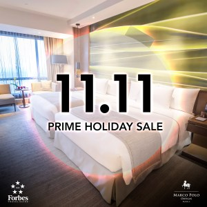 Check this special discounts on stays, dining with Marco Polo Ortigas Manila's Prime Holiday Sale