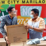 Uniqlo, SM donated 20,182 pieces of AIRism masks for the communities and families in Bulacan
