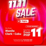 AirAsia kicks off 11.11 Sale with P11 base fare deals