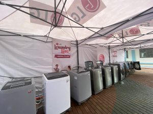 LG shares Laundry Love to Marikina