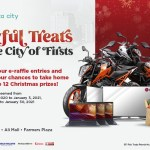 To-Do list in Araneta City this long Christmas weekend