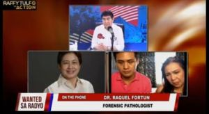 Death of FA 'inconclusive' says forensic pathologist Dr. Raquel Fortun