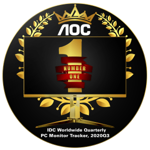 AOC is Philippines' #1 PC monitor brand for two quarters in a row