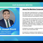 Lark awards Business Mentorship Program to Pal Maritime Corporation CEO Mark Joseph David
