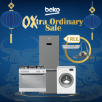 Avail and enjoy good deals and freebies in Beko's OXtra Ordinary Sale