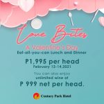 LOVE CONQUERS ALL: Take your loved one on a lavish Valentine's date at Century Park Hotel