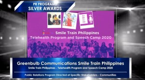 Smile Train wins big at the 56th Anvil Awards, raising more awareness to Telehealth and Virtual Speech programs