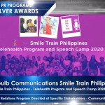Smile Train wins big at the 56th Anvil Awards
