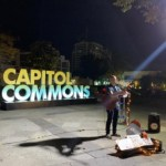 Park-goers at Capitol Commons are in for relaxing nights of serenade and al fresco dining