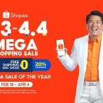 Shopee kicks off 3.3 - 4.4 Mega Shopping Sale with newest Brand Ambassador Willie Revillame