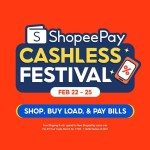 Shop, buy load, and pay bills with ShopeePay to grab exclusive deals and rewards this February 22-25