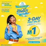 Cebu Pacific rolls out 3-day PISO Sale beginning 3.3
