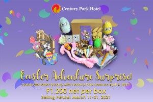 Get ready for an Easter adventure surprise from Century Park Hotel