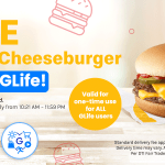 GCash Exclusive: FREE McDonald's Double Cheeseburger only on GLife!