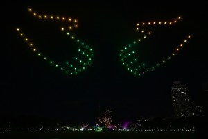 Over 200,000 online viewers tuned in as Ben&Ben, Smart light up Manila skies in special drone show