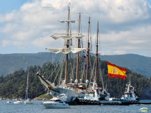 Spanish navy training ship Juan Sebastian Elcano to arrive at Suluan Island, Manicani Island, and Guiuan Transport Terminal, Guiuan, Eastern Samar
