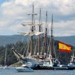Spanish navy training ship Juan Sebastian Elcano to arrive at Suluan Island, Manicani Island, and Guiuan Transport Terminal, Guiuan, Eastern Samar