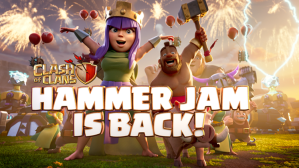 Clash of Clans Hammer Jam is back