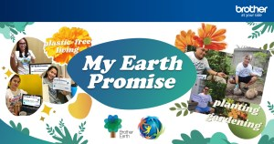 Brother Philippines associates renew commitment to conserving the environment on Earth Day