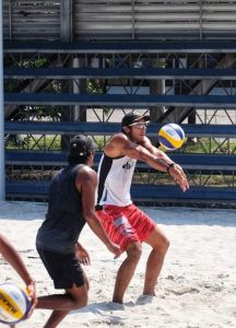 AJ Pareja shines in Philippine beach volley team tryouts