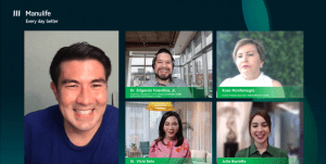 """Manulife encourages Filipinos to take care of mental and physical well-being at """"Health Matters"""" webinar"""